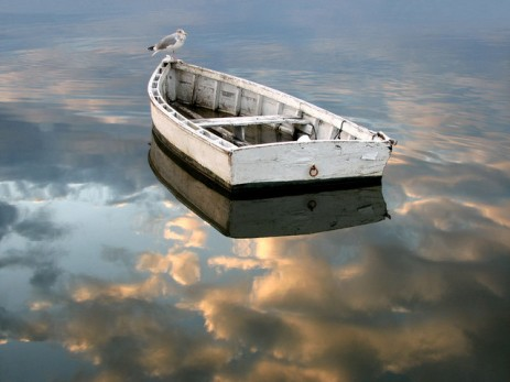 drifting-boat